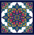 seamless pattern coloring mandalas on white vector image vector image