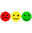 set smiley face with a black eye emoticons vector image