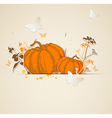 autumn paper background vector image vector image