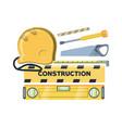 construction equipment design vector image