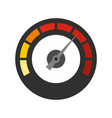 dashboard icon flat style vector image vector image