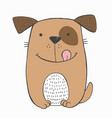 funny toy puppy vector image