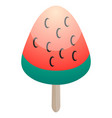 isolated popsicle vector image