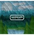 Landscape design vector image