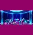 Mess in nightclub after party concept