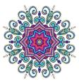 New Round Mandala-02 vector image