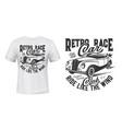 Racing cars club apparel print