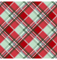 Red Green Gray Diamond Chessboard Background vector image vector image
