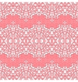 Seamless Floral Pattern lace background vector image