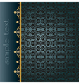 traditional ottoman seamless pattern vector image