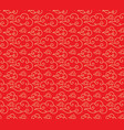 chinese cloud pattern happy new year vector image vector image
