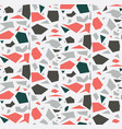 colorful terrazzo pattern vector image vector image