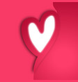 creative heart vector image