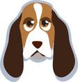 Hound Head vector image vector image