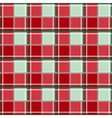 Red Green Chessboard Background vector image vector image