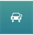 car lock icon vector image vector image