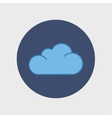 cloud icon Flat design style vector image