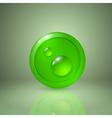 Drop of dew vector image