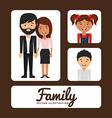 family album vector image vector image