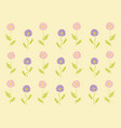 flowers fall vector image