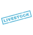 Livestock Rubber Stamp vector image vector image