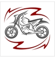 Motorcycle Elements vector image