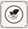 nature leaf logo vector image vector image