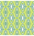 Arabic pattern in lime and jade green vector image