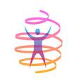 Humanity symbol vector image