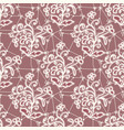 seamless texture of white lace fabric vector image vector image