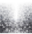 technology abstract in white light effect design i vector image vector image