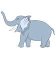 Funny Cartoon Elephant vector image