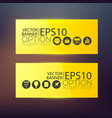 business abstract horizontal banners vector image vector image