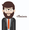 Businesspeople design vector image
