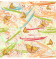 colorful pattern with splashes vector image vector image