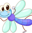 Cute Dragonfly vector image vector image