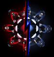 cyber sport team vector image vector image