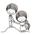 Encourage kids design vector image vector image