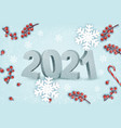 happy new year background with a 2021 vector image vector image