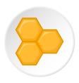 Honeycomb icon cartoon style vector image vector image