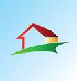 House logo design vector image