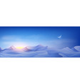 muslim holiday banner concept realistic night vector image