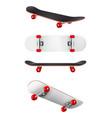 Skateboards realistic set
