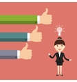 The Business Situation vector image