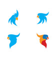 bird symbol vector image