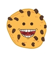 Cookie cartoon icon Bakery design graphic vector image vector image