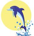 Delfin vector image vector image