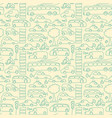 hand drawn transport seamless pattern vector image
