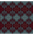 Ottoman motifs abstract background vector image
