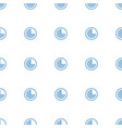 radar icon pattern seamless white background vector image vector image